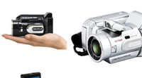 Point & Shoot 1600 points - HD7000T pixel high definition digital camera with telephoto lens camera suspended
