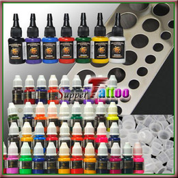 Wholesale Tattoo Color Ink ml Ink ml Cups Steel Holder Supply