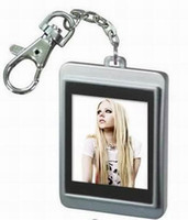 Wholesale 1 quot inch Digital USB KEY Chain Photo Picture Frame multiple Color