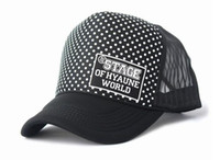 Wholesale Wave point Truck cap Sport hat Leisure Cap Sun Hat Hip hop Hat Mesh cap