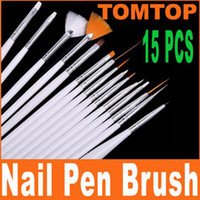 Wholesale Brand New set Nail Art Design Brushes Set Painting Pen Polish Tips H4559