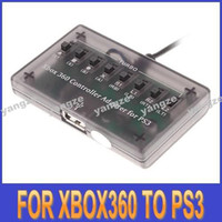 Wholesale hot sell Turbo CROSS BATTLE for XBOX Controller converter Adapter For PS3 console yangze