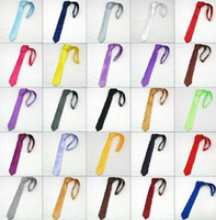 Wholesale Mix and match clothing orders Fashion Men s ties narrow leisure neckties tie neckcloth