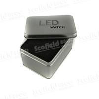 Wholesale NEW LED Wrist Watch Gift Box