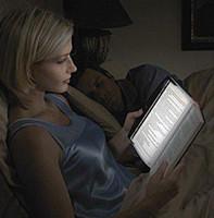 Wholesale free dropshipping LED Night Book Reading Light Panel Lightwedge Paperback flat reading lamp