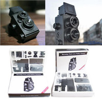 Wholesale 1pcs lomo camera film camera idea christmas gift Film Recesky Twin lens reflex camera