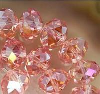 Wholesale 70pcs Pink Swarovski Crystal Loose Beads x8mm