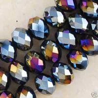 Wholesale 72pcs Black Swarovski Crystal Loose Beads x6MM
