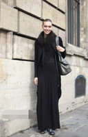 Fashion Dresses solid round neck long- sleeved Sheep plush Wo...