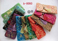 Wholesale GDM Embroidery Glasses bag Brocade gifts Bags Storage Silk Bags cm