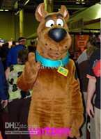 Wholesale Scooby Dog Plush Mascot Costume Adult Size Event Brithday Mascot Cool Scooby Dog Mascot