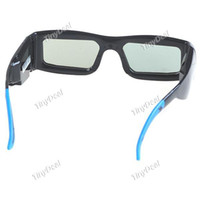 Wholesale 3 Dimensional D Active Shutter Glasses USB Cable for Samsung DTV High Definition D Images