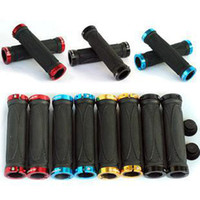 Wholesale Trek Bontrager Bicycle grips mtb grips Bicycle Handle Set Bar Grips Soft pairs