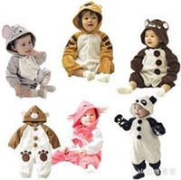 Wholesale Hot animal mascot children clothing kid model apparel Baby body suit