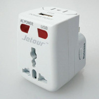 Wholesale Travel adaptors with wire A USB Conversion plug Multifunction adaptors