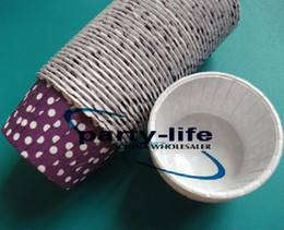 Hot selling!! New Purple Round MUFFIN Paper Cake Cup Cake case with White Dot,1000pcs lot