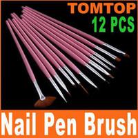 art pink paintings - set Pink Nail Art Design Pen Painting Dotting Brush Set H4567
