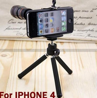 Wholesale Telescope Camera Lens Tripod Holder Stand For phone cell phone x Optical Zoom pc
