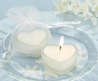 Wholesale Romantic Heart Shaped Candle Home Decor Craft Candles Wedding Favor
