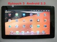 Wholesale Flytouch Superpad Tablet PC Android Allwinner A10 Cortex A8 GHz GPS WIFI GB GB
