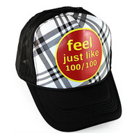 Wholesale Feel just like truck cap Summer cap Hip hop cap Sun Hat Mesh cap Leisure Cap