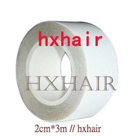 Wholesale 10pcs HIGH QUALITY cm m Double Sided Adhesive Tape for SKIN WEFT Hair Extension