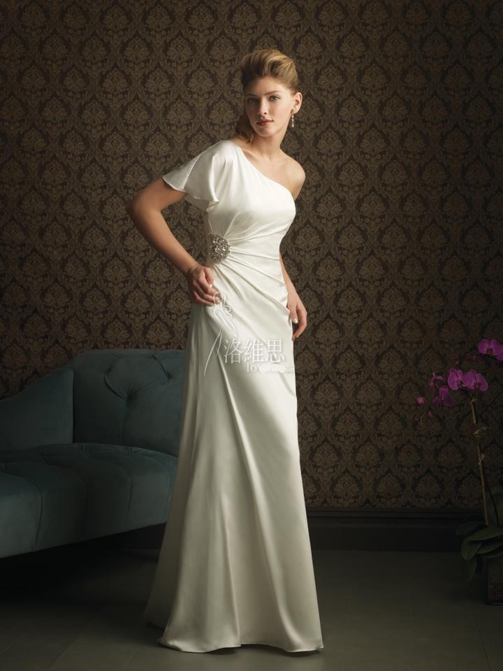Wedding dresses: slip wedding dresses