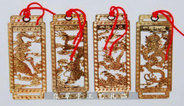 Wholesale Ethnic Cloisonne Crafts Bookmark Chinese Metal Copper Handmade Fashion Gift Bookmarks set pack set mix pattern Free