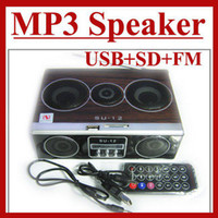 Universal su12 - Mini Sound box MP3 player Mobile Speaker boombox FM Radio SD Card reader USB SU12 Sample