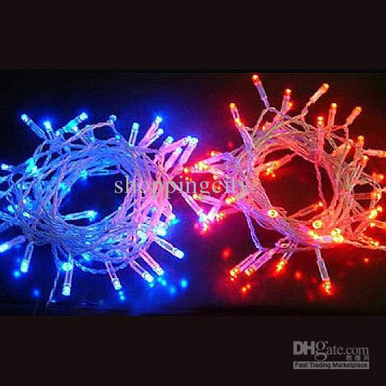 Online Big Discout 100 Led String Lights For Clear Wire Christmas Decoration Battery Operated ...