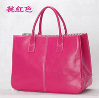Wholesale 2011 Handbag tote New Red Woman s Bag patent leather Purse Bags colors fast shipping