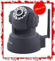 Wholesale FOSCAM Wireless IP Camera cctv Wifi Cam Pan Tilt Webcam FI8918W Web Cameras IR High ntegration