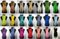Compra Mantones de la manera de civil-Moda largos ponchos de la bufanda de lino sensación viscosa lisos envuelven las bufandas chal envuelve 2011 la mejor venta mantones 24pcs / lot # 1375