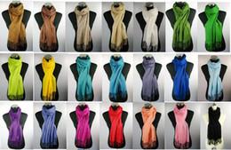 Mejores bufandas de moda en venta-Moda largos ponchos de la bufanda de lino sensación viscosa lisos envuelven las bufandas chal envuelve 2011 la mejor venta mantones 24pcs / lot # 1375