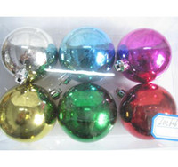 Wholesale 5CM Colorful Christmas Ball Perfect For Decorating Christmas Trees Doorways Windows Staircases