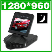 Wholesale 2 quot TFT HD P Vehicle IR LED Night Vision Car Camera DVR Recorder e_shop2008