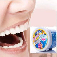 Each box is 130g powder bleach - Free Ship Brand New Boxes Tooth Teeth Bleaching Whitening Powder g HOT SELL