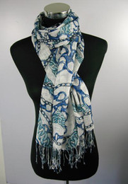 Latest lady spring summer long printed Scarf ponchos wrap scarves TOP sale shawls 24pcs lot #1380