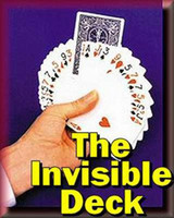 magic deck - THE INVISIBLE DECK magic trick magic props magic toy magic show