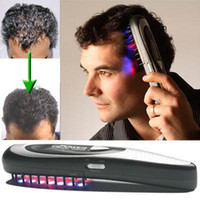 Wholesale 50pcs Power Grow Laser Hair Comb personal home hair comb kit