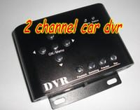 Wholesale 2pcs cheap channel mini dvr low price dvr taxi dvr car dvr D1 resolution dvr sd memory dvr