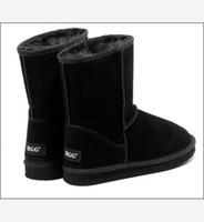 Wholesale women s boots winte boots snow boots boot black