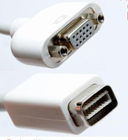 Wholesale Mini DVI to VGA Adapter Cable for MacBook