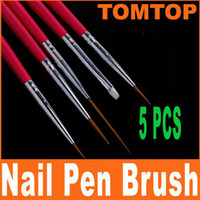 Wholesale Hot Sale set Rose Nail Art Design Pen Painting amp Dotting Brush Set H4616