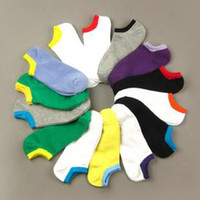 Wholesale 50 Pairs New Arrival Special Offer Colorful Lovely Candy Sock Sport Ship Sweat Combed Socks
