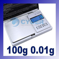 Scales   Jewelry Weight Mini 100g x 0.01 Jewelry Gram Digital Balance Weight Scale #1443