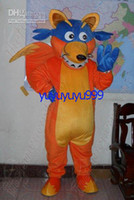 Wholesale Professional Cartoon Swiper Fox From Explore Dora mascot costume adult size