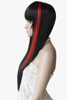 Wholesale hair Indian Remy Human Hair Clip In Hair Extensions Blue amp Orange amp Pink