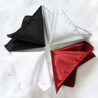 Wholesale men s Pocket square satin Hankerchief kerchief mocket mocketer Pocket towel pocket handkerchief