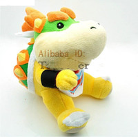"New Bowser Plush Doll Super Mario Brothers 6"" 100pcs se..."